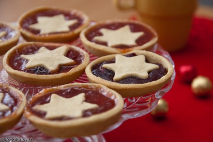 On Christmas Day ... Tartelettes Epicées à la Confiture