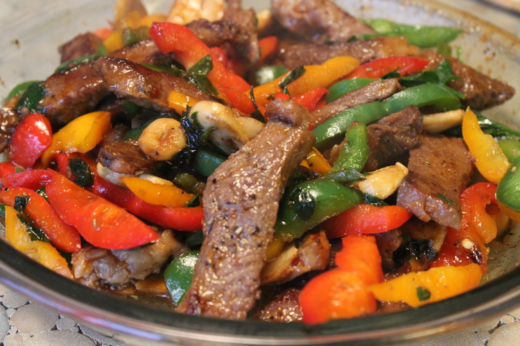 Asian Steak and Pepper Stir-Fry