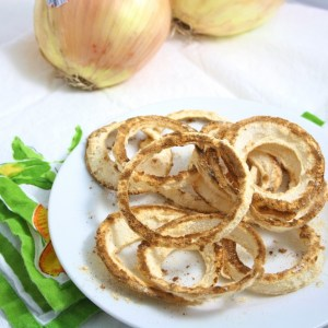 The World's Healthiest Onion Rings