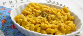 Low Fat Pumpkin Mac and Cheeze