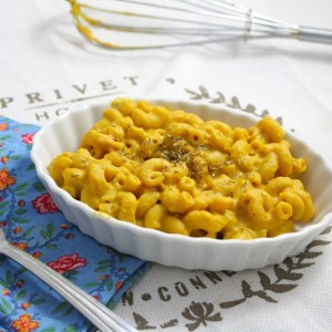 Low Fat Vegan Pumpkin Mac and Cheeze