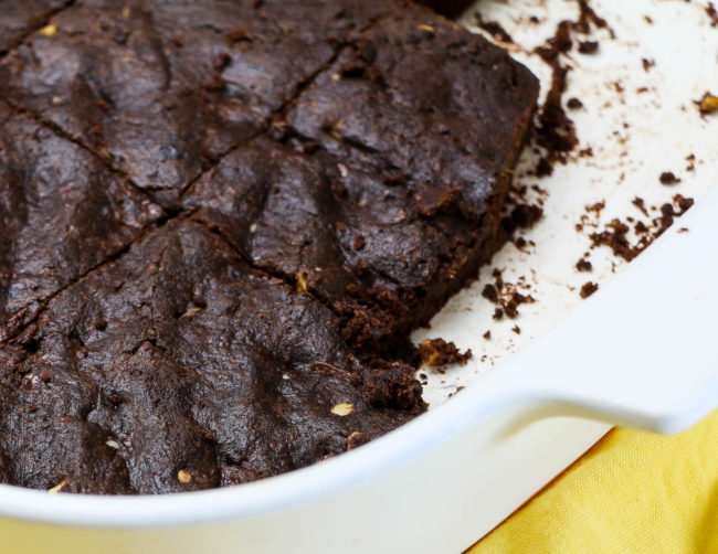 Flourless Almond Butter Brownies (Vegan/Grain Free/Low Carb)