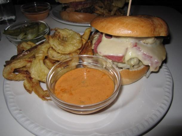 Mishkins Reuben Burger