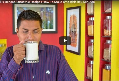 How to Make Banana Chickoo Smoothie Recipe, best indian dessert recipe, quick indian dessert recipe, best indian dessert recipe.