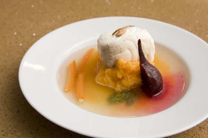 Citrus Cayenne-Poached Halibut