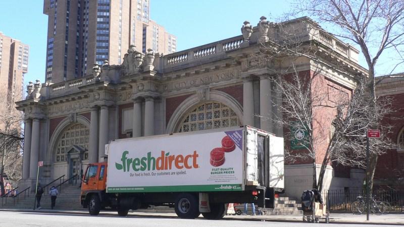 Fresh Direct Truck