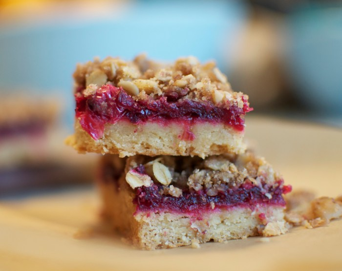 Cranberry Walnut Streusel Bars Recipe | Food Republic