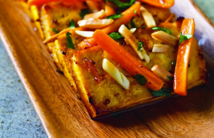 citrus roasted tofu