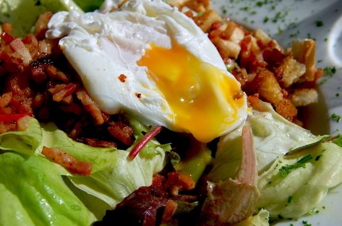 Filet Mignon Carpaccio With Mini Caesar Salad And Poached ...