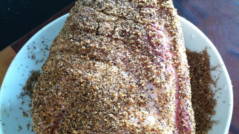 Spice Rubbed Pork