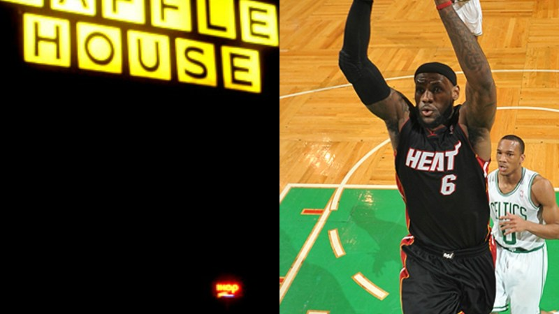 Waffle House NBA rankings