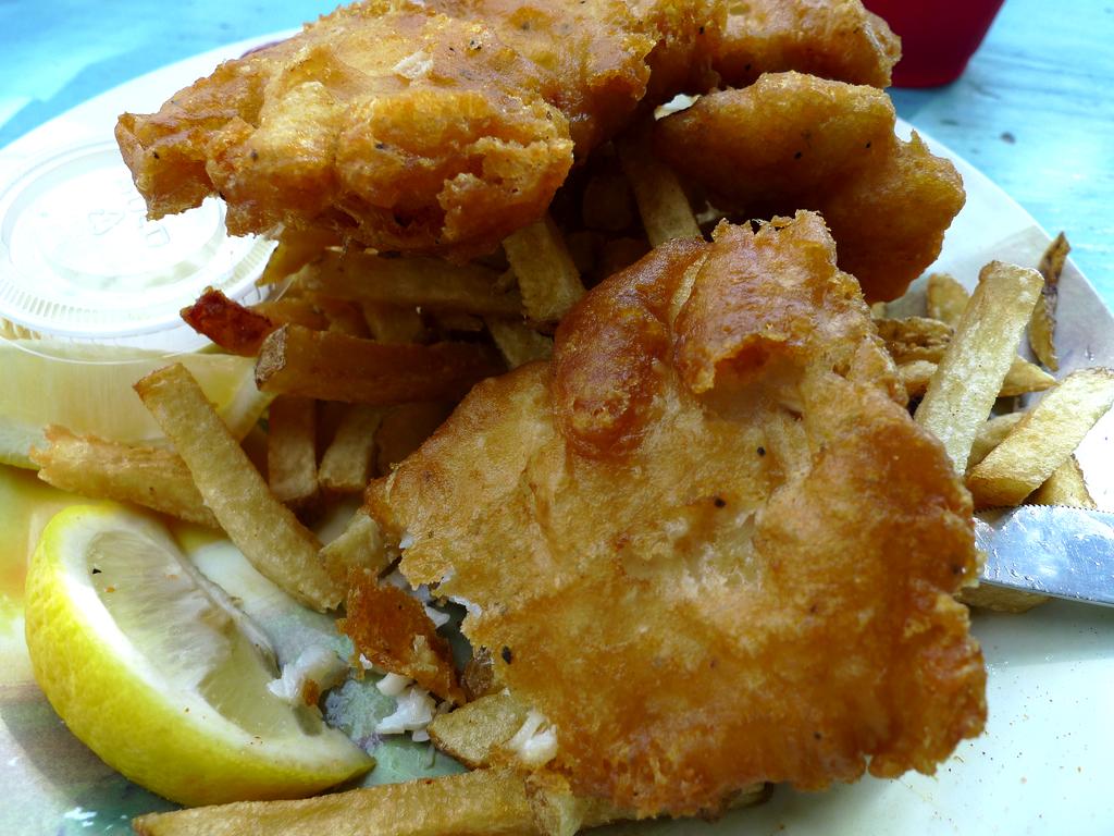 Easy beer batter recipe food republic for Light batter for fish