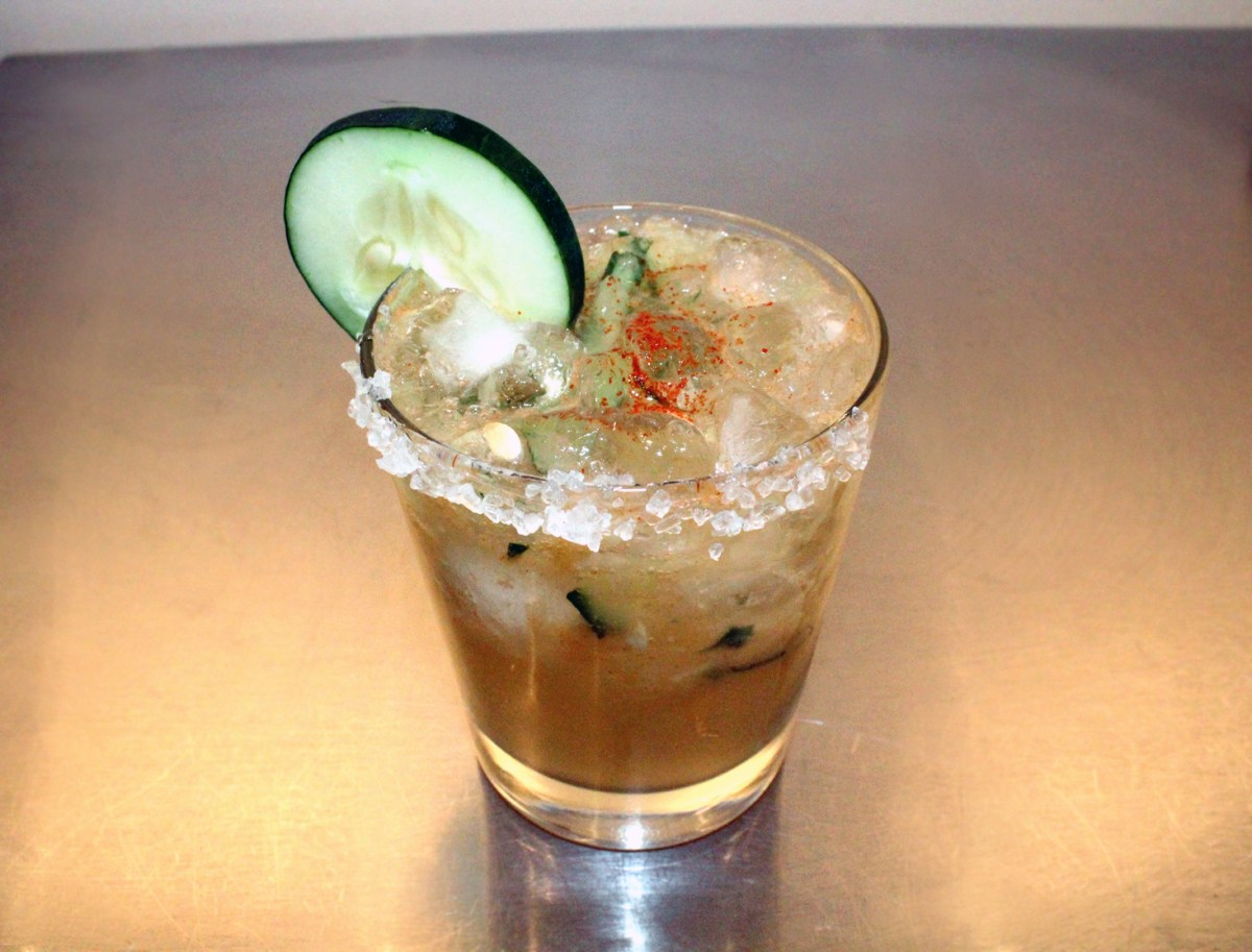 El guapo cocktail recipe with mezcal food republic for Tea and liquor recipes