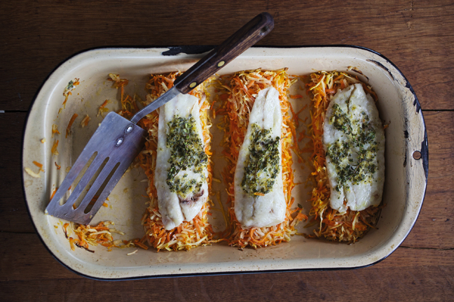 The carrots and parsnips really carry this dish, so choose wisely. (Photo: Jody Horton.)