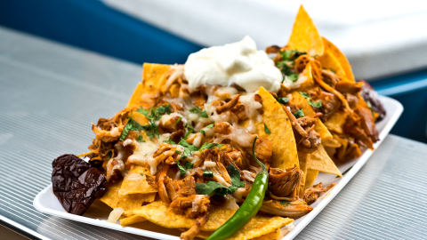 spicy chicken nachos recipe
