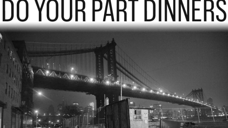 Bon Appétit will donate all proceeds from the two dinners to Hurricane Sandy relief.