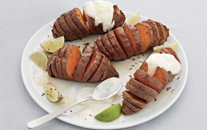 Hasselback Sweet Potatoes Recipe | Food Republic