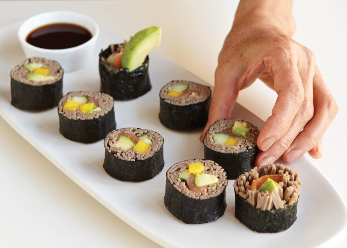 Soba Sushi Rolls Recipe | Food Republic