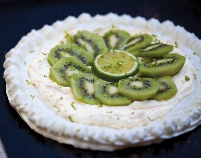 Kiwi Pavlova With Lime Zest Recipe - Food Republic