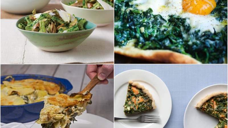 7 Ideas For Dinner Tonight: Spinach
