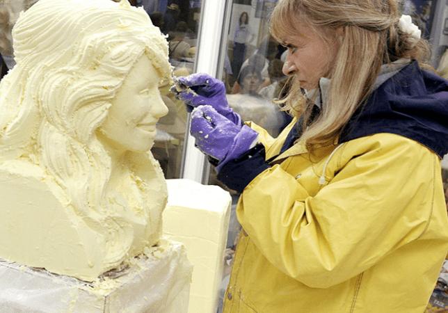 Modern Farmer Digs Into The Cutthroat World Of Professional Butter Sculpting