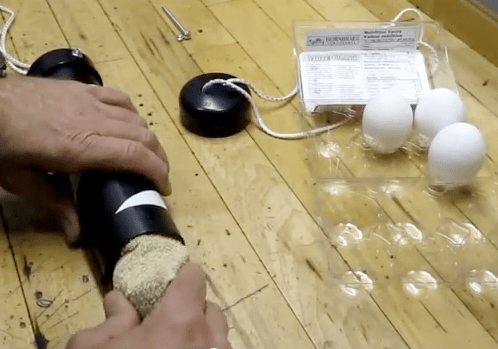 Video: How To Scramble An Egg In A Shell