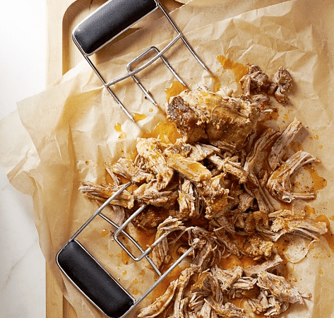 These barbecue claws are great for grabbing, lifting and shredding large pieces of meat.