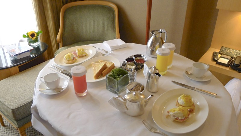 Is This The Death Of Hotel Room Service?