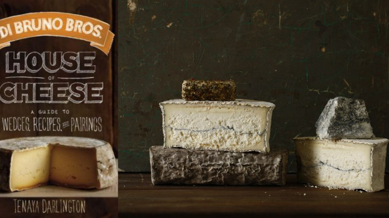 Di Bruno Bros. Cheese Book: 170 Cheese Profiles, 70 Recipes And Lots of Attitude