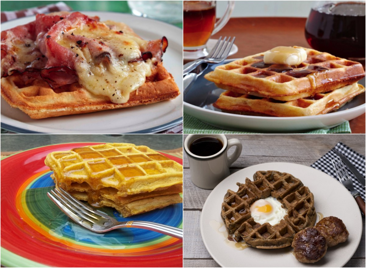 Toad In The Waffle Recipe — Dishmaps