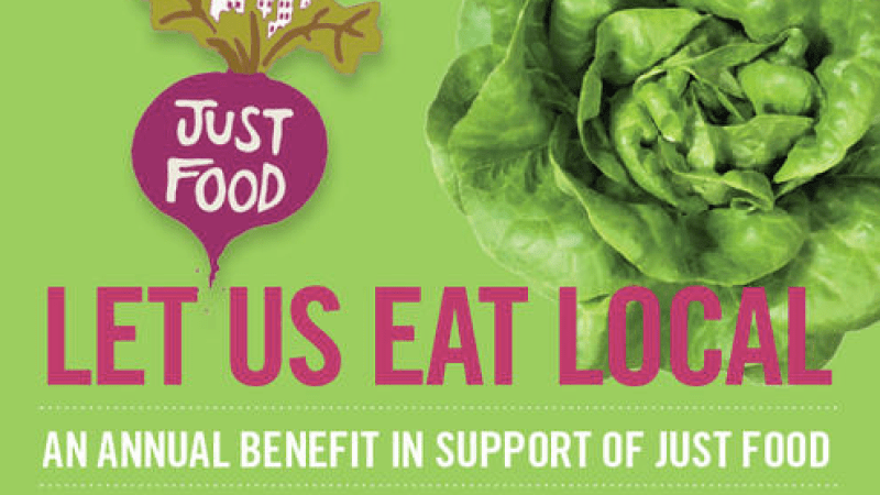 Some of NYC's most renowned restaurants will be on hand at Just Food's benefit.