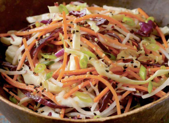 Miso-Spiked Asian Slaw Recipe - Food Republic