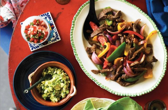Mexican food detour try this lamb fajitas recipe food republic forumfinder Images