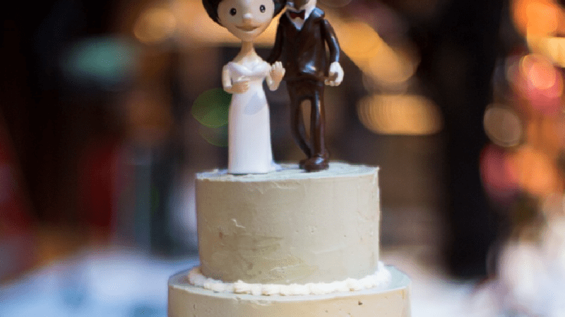 Stephanie Izard's Wedding Cake Was Better Than Your Wedding Cake
