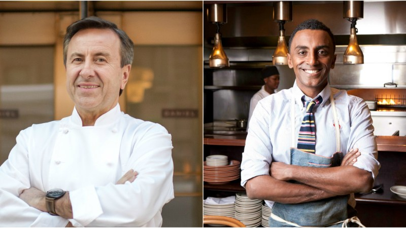 Daniel Boulud and Marcus Samuelsson have their sights set on a nutritious year ahead.