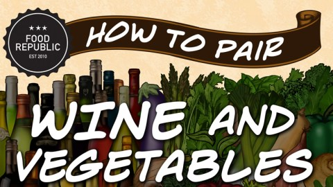 Infographic: How To Pair Wine And Vegetables
