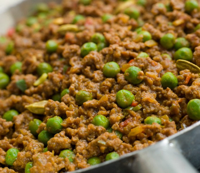 keema with peas recipe