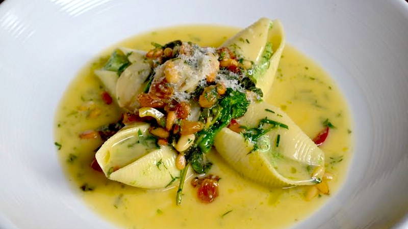broccoli rabe stuffed shells