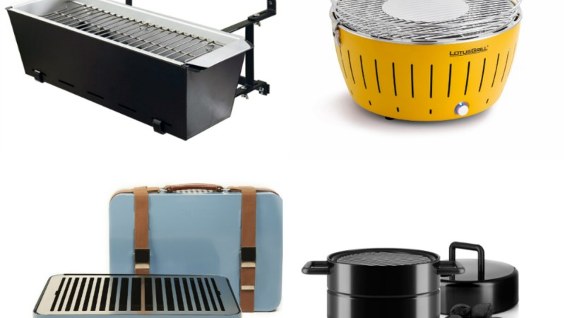City Grills: 7 Smart Designs For A Better Urban BBQ Experience
