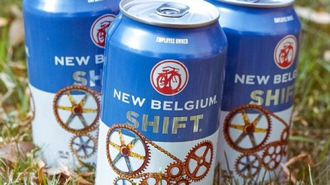 This fruity lager from Colorado is one of our seasonal faves. Photo: @newbelgium