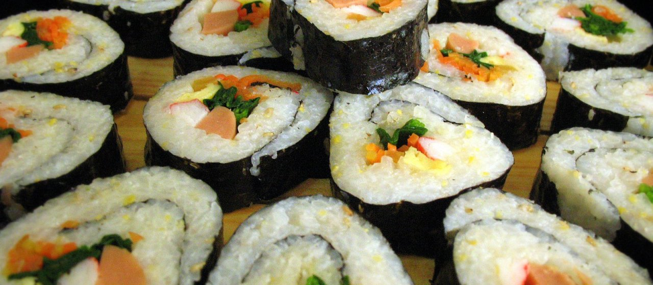 Get to know kimbap the korean answer to japanese sushi rolls food article featured image south korea forumfinder Image collections