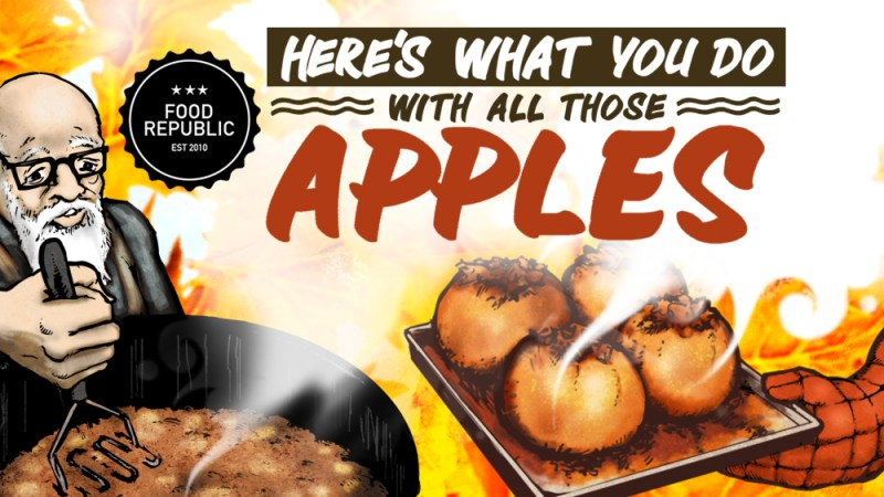 what to do with apples