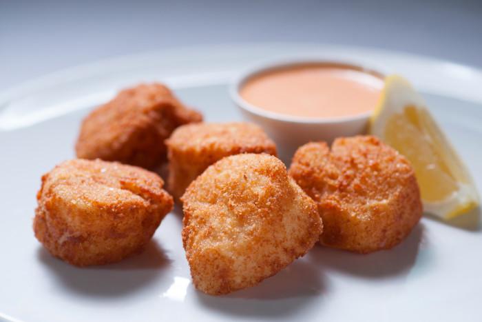 Ben Pollinger's Fried Sea Scallops Recipe