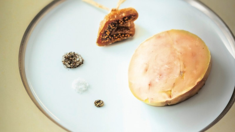 Make Alain Ducasse's duck liver confit at home. Good news: you're going to need a lot of duck fat.