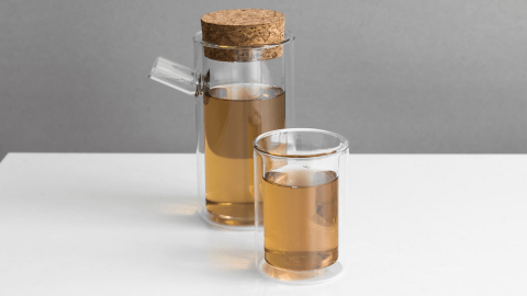 The Ora teapot, designed by Paul Loebach, brings functional beauty to tea drinking.