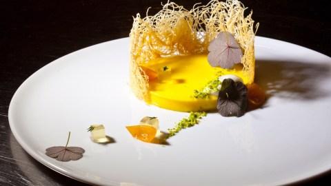Mango Pudding Daniel Skurnick from buddakan. Photo: Pichet Ong