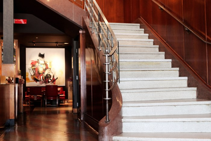 Dramatic art is displayed throughout the hotel in permanent and rotating exhibits. (Photo courtesy of The Drake Hotel.)