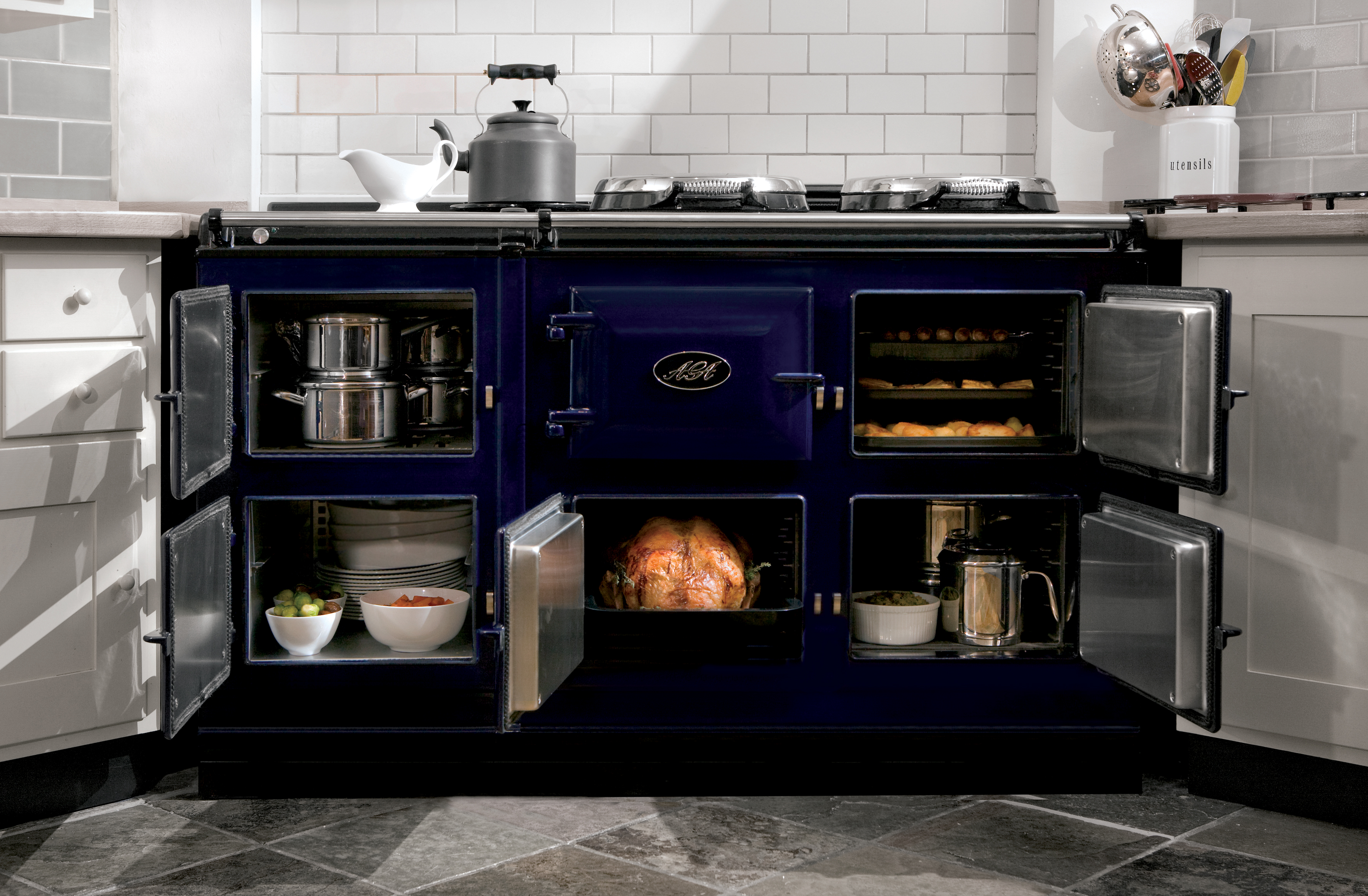 ordinary Aga Kitchen Appliances #7: Will America Go Gaga For AGA? The Fancy British Stove Is Poised For A U.S.  Breakthrough - Food Republic