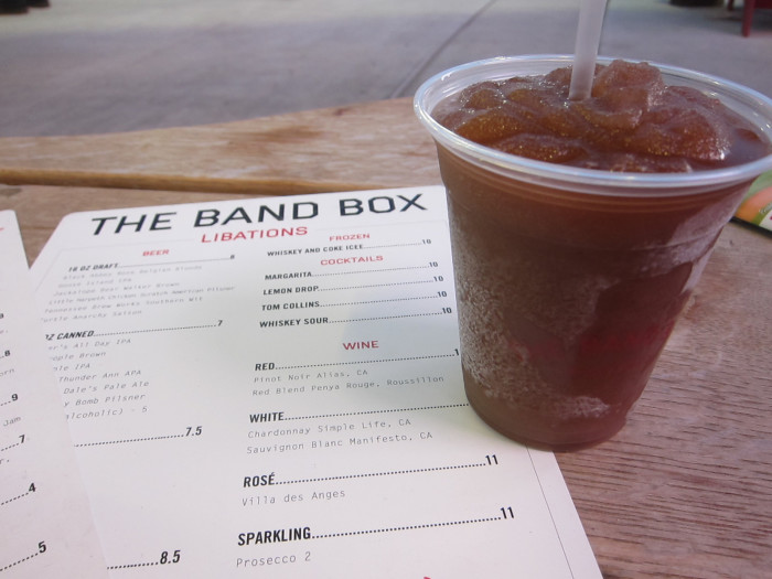 Band Box Frozen Coke
