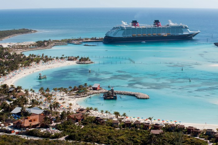 Castaway Cay, Disney's private Bahamas island. (Photo: Disney)